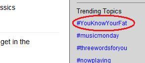 Twitter Trending Topic Fail