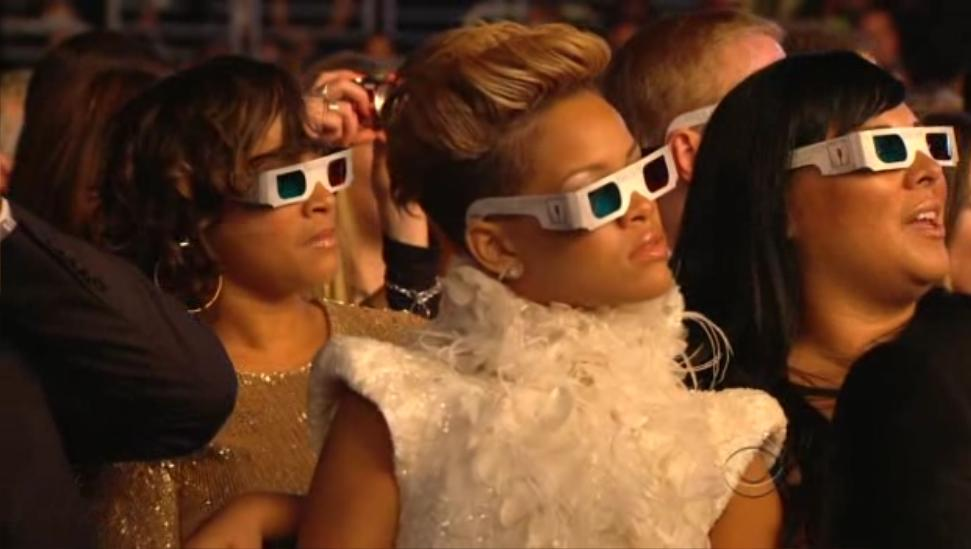 3D Glasses at the Grammy Awards
