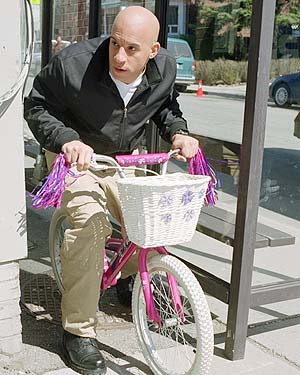 Vin Diesel shilling for The Pacifier
