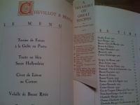 A Treasury Of Recipes - Vincent & Mary Price - Menu