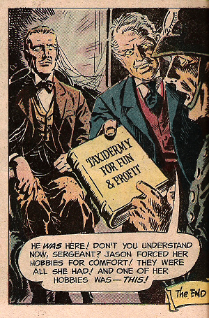 Panel from Weird Mystery #12