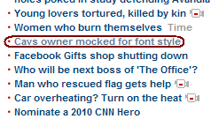 CNN Frontpage