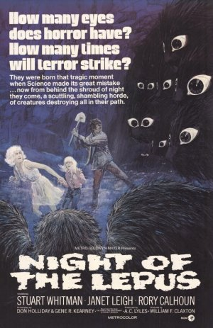 Night Of The Lepus Poster