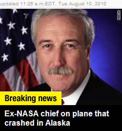 CNN: NASA Chief In Crash