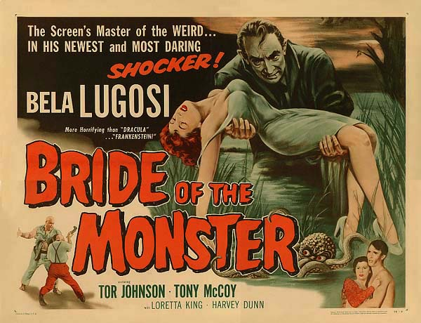 Poster for Bride Of The Monster