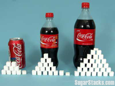 Colas With Sugar Stacks