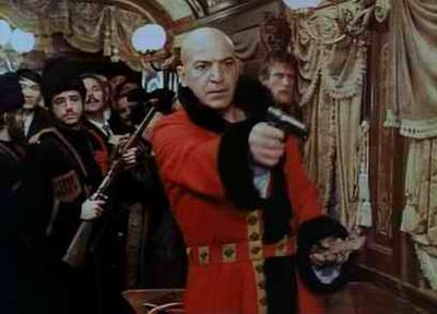 Telly Savalas In Horror Express