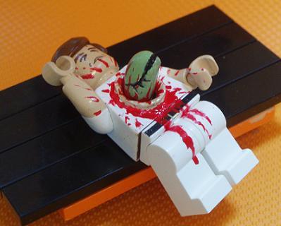 Lego Alien Chestburster
