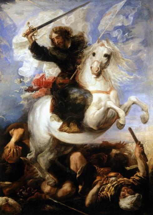 1657 St James The Great In The Battle Of Juan Carre o de Miranda