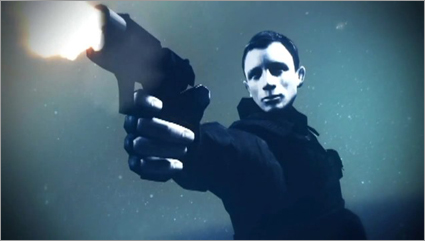 Daniel Craig as James Bond in Goldeneye