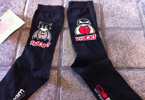Bat-socks