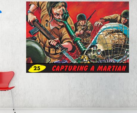 Mars Attacks - Capturing a Martian