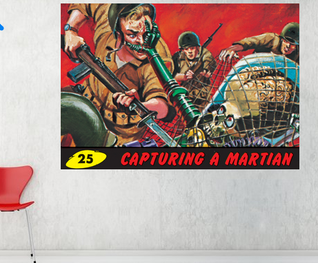 Mars Attacks - Capturing a Martian