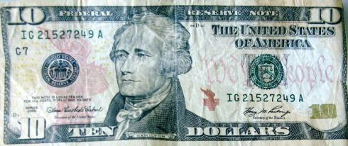 Counterfeit $10