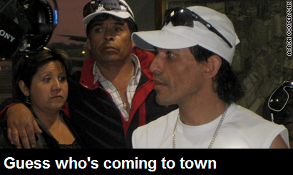 Chilean Miners Traveling Band