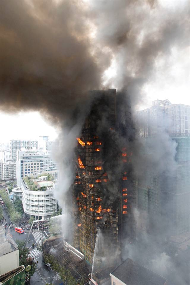 Shanghai Apartment Fire