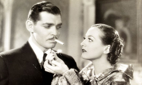Clark Gable smoking