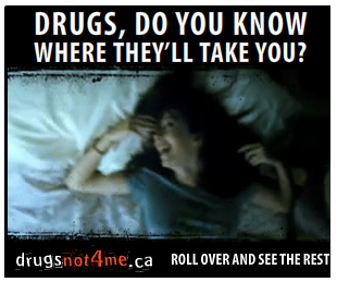 Drugs - do you know where they'll take you?