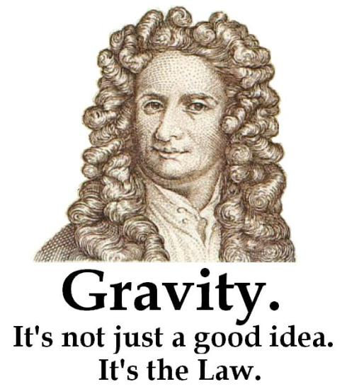 Gravity: It's the Law