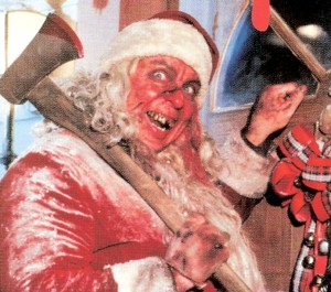 Larry Drake as Killer Santa Claus from Tales From The Crypt