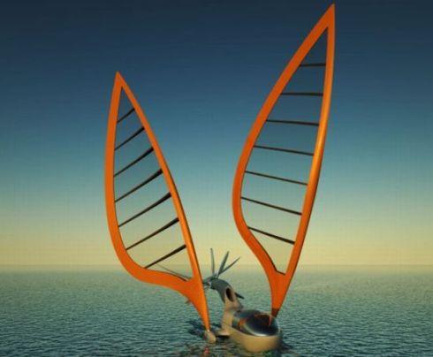 aircraft/sail boat