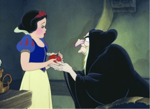 Snow White meets the guy in charge of the local produce section