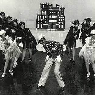 Astaire in blackface in Swingtime