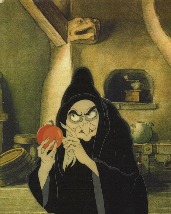 Snow White Witch with Apple