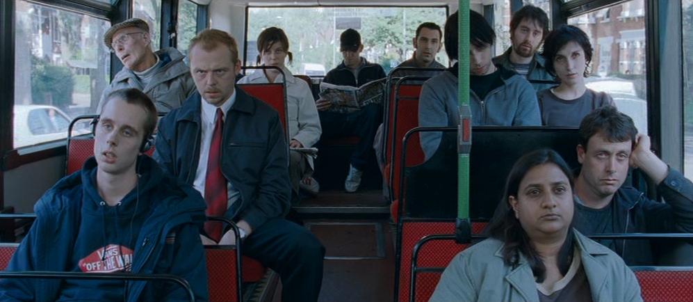 Shaun rides the bus