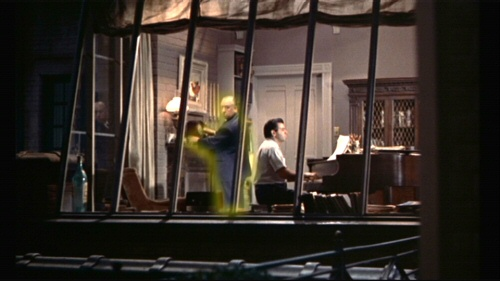 The Musician in Rear Window (and some other guy)