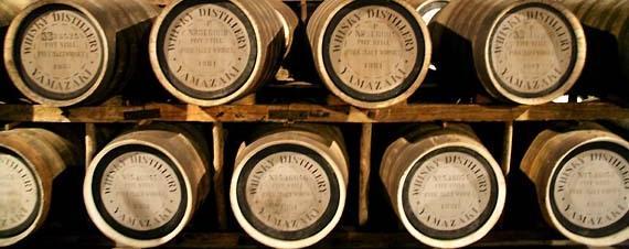 Whisky Barrels from http://www.wineterroirs.com/2008/03/yamazaki_whisky.html
