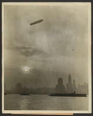 Zeppellin Over New York