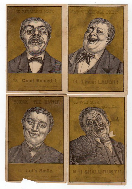 Victorian Ad from the Wikipedia article on laughter