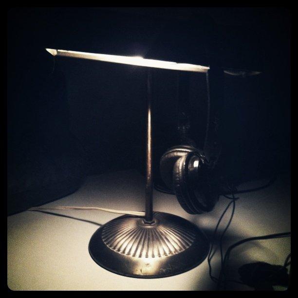 My trusty desk lamp