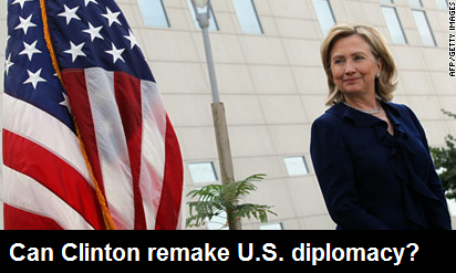Can Clinton Remake US Diplomacy?