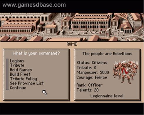 Centurion Screen Shot