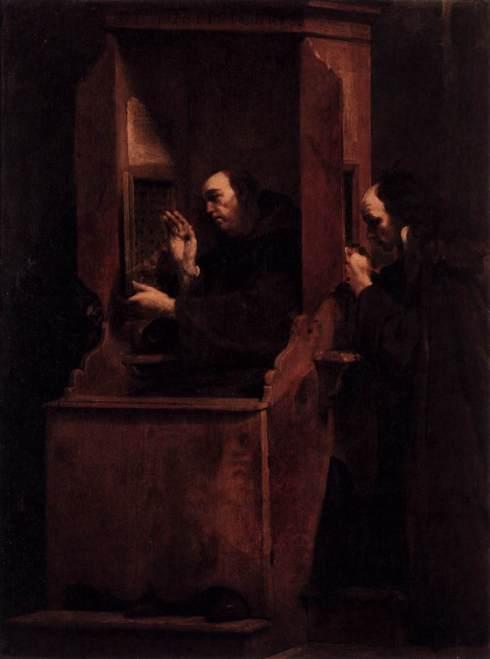 Confession by Giuseppe Maria Crespi, 1712