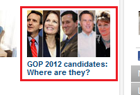 GOP 2012 candidates where are they?
