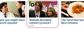 """Hannah Montana"" ruined Cyruses?"
