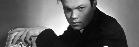 Young Orson Welles, from the Orson Welles Annex (click for link)