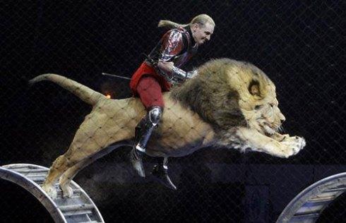 Askold Zapashny of the Zapashny Brothers Circus in St. Petersburg