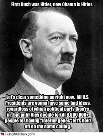 On Hitler Politics (from PunditKitchen.com)