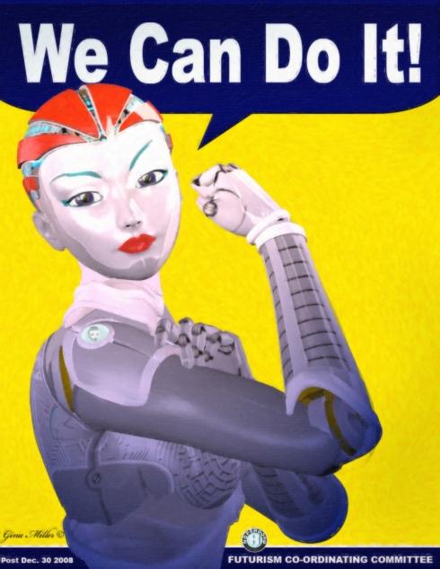 Rosie The Roboteer (artist unknown)